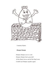 Humpty Dumpty - 5 minute activity practising the Simple past