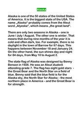 Laufdiktat Alaska