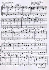 Wolfenbütteler Tanzbüchlein von 1717 - höfisch-volkstümliche Tanzmusik Teil 4