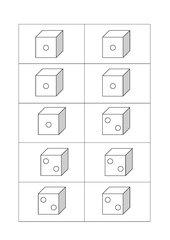 Gruppeneinteilung mit Würfeln