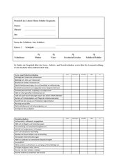 Protokoll Lehrer-Eltern-Schüler-Gespräch