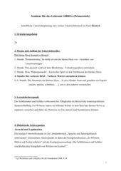 Sprache untersuchen - Hexenwörter entzaubern; Kl.2