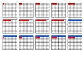 Zahlen bis 100 in verschiedenen Darstellungen: Mengenbilder, Z+E, Zahlwörter, ZE