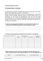 Übungsstunde für Komplexarbeit Deutsch Klasse 4