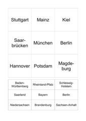Bundesländer-Bingo