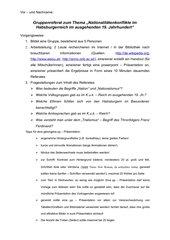 Gruppenreferate zum Thema Habsburgerreich (19. Jh.)