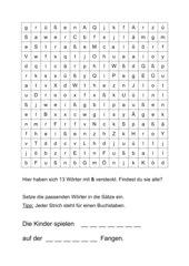 Wörter mit ß
