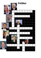 Politiker-Kreuzworträtsel