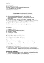 Heilpädagogisches Reiten und Voltigieren
