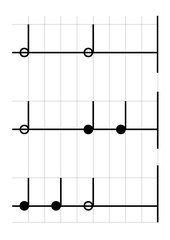 Rhythmusbaukasten für Vierviertel Takt (Stomp u.a.)