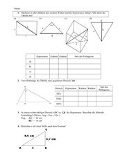 Pythagoras erkennen