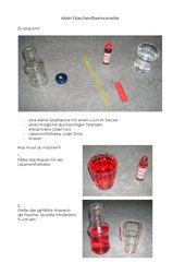 Bau eines Flaschenthermometers