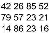 Zahlenverhältnisspiel (Größer, Kleiner, Gleich)