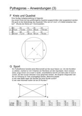 Pythagoras - Anwendungen (3)