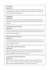 Bewerbungsgespräch: Rollenspiele, Negativbeispiele