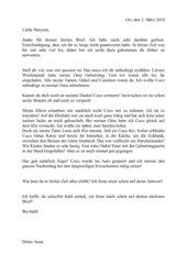 Beispiel: Persönlicher Brief