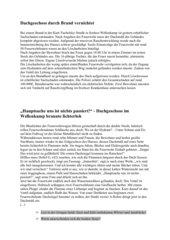 Zeitung: Bericht vs. Reportage