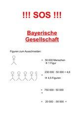 Gesellschaft im barocken Bayern