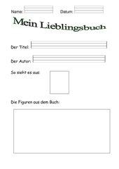 Arbeitsblatt deutsch 3 klasse