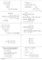 Lernkarten Analytische Geometrie