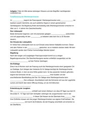 Lückentext zur Fortpflanzung der Weinbergschnecke