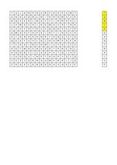 Kreuzworträtsel Möbel