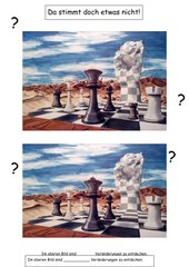 Original u. Fälschung: Schachmatt