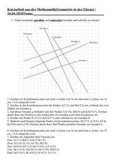 Probearbeit Geometrie in der Ebene