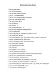 Lustige fragen kennenlernen