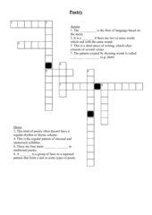 poetry-crossword