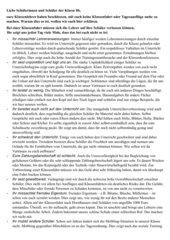 Argumentation Klassenfahrt, Deutscharbeit