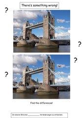 Original u. Fälschung: Tower Bridge