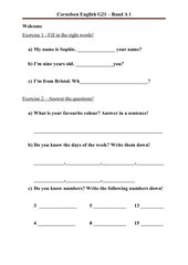 01_English-G21_Welcome_Fill_in_and_Answer_questions