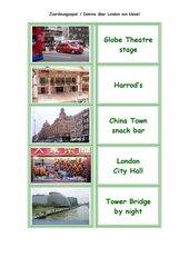 Zuordnungsspiel bzw. Memo-Spiel  und/ oder Domino LONDON