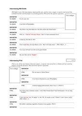Interviewing Will Smith & P!nk/Fragen stellen (B4 Unit 3)