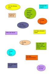 Kleine Sätze zuordnen  deutsch - französisch