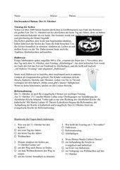 Der 31.Oktober - Halloween und Reformationstag