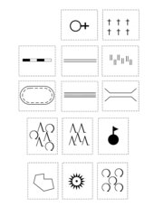 Kartensymbole zuordnen - Legende