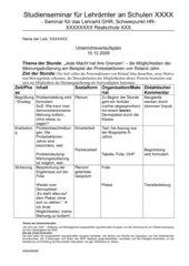 UR-Planung: Opposition in der DDR