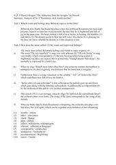 Mozart Entführung aus dem Serail - No 3 Arie des Belmonte Kurzanalyse auf Englisch