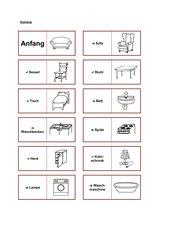 Wohnungsgegenstände Domino (Deutsch)