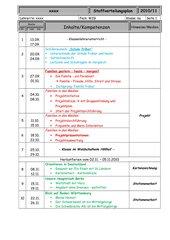 Stoffverteilungsplan WZG Klasse 6 Werkrealschule Baden-Württemberg