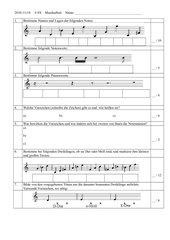 Musikarbeit Klasse 6 Gymnasium