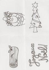 Vokabelkarten für Grundschule, Weihnachten