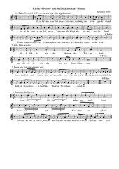 Weihnachtslieder-Suite aus acht Liedern