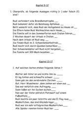 Leseplan Rennschwein Rudi Rüssel