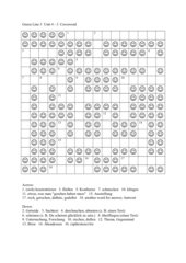 Green Line 3 Unit 4 Crossword 3