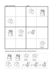 Einfaches Sudoku Winterbilder