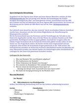 Stoffwechselphysiologie, Reihenplanung, Muskeln-Energie
