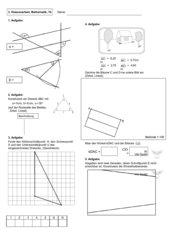 Geometrie-Arbeit-Klasse7